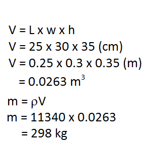 Mass and Volume: Formulas, Unit Conversion & Practice Problems