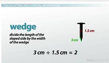 Mechanical Advantage: Definition & Formula - Video & Lesson