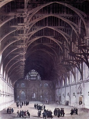 Roof of Westminster Hall