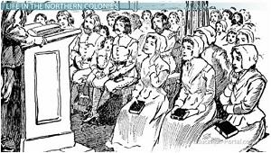 the puritan town meeting