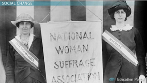 Womens Suffrage Movement