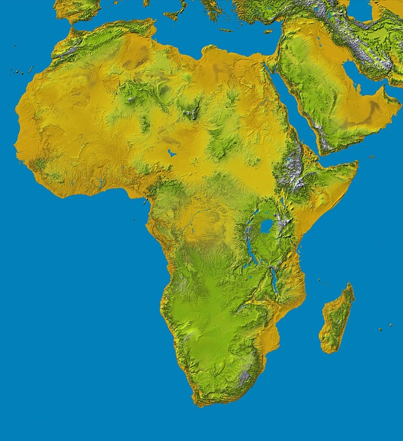 Map Of Africa Land Features.What Are The Physical Features Of Africa Below The Equator Study Com