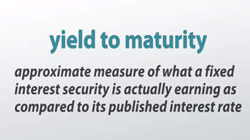 Promised yield to maturity