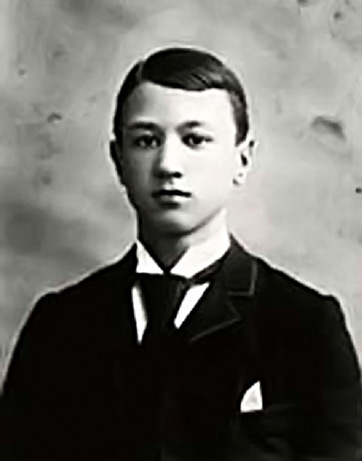 Photo of Charles Ives as a boy