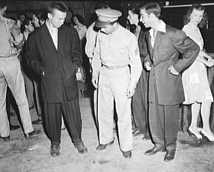 Zoot suits of the 1940s
