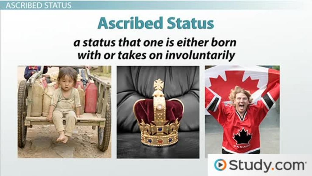 ascribed status definition