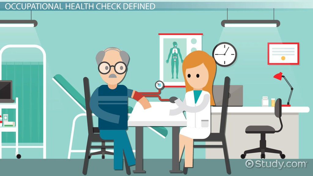 What Is An Occupational Health Check Video Amp Lesson