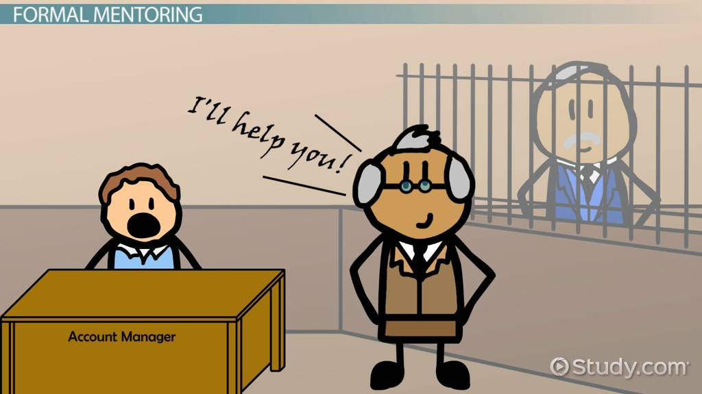 Formal Informal Mentoring Definition Differences Video