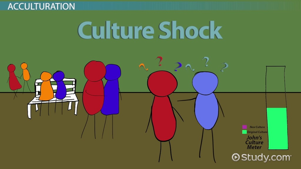 Comparing Enculturation Acculturation Video Lesson Transcript