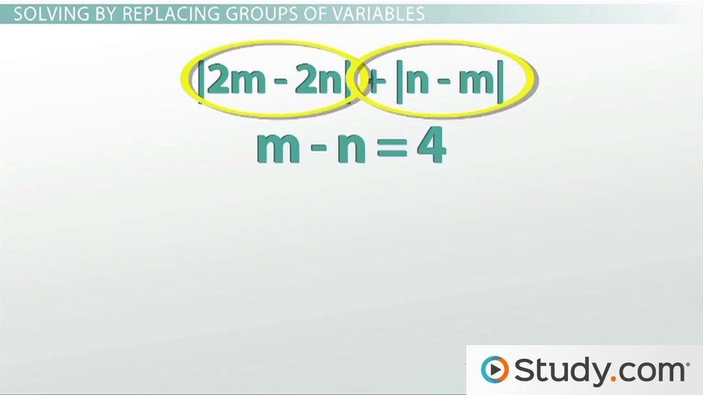 How To Evaluate Absolute Value Expressions Video Lesson