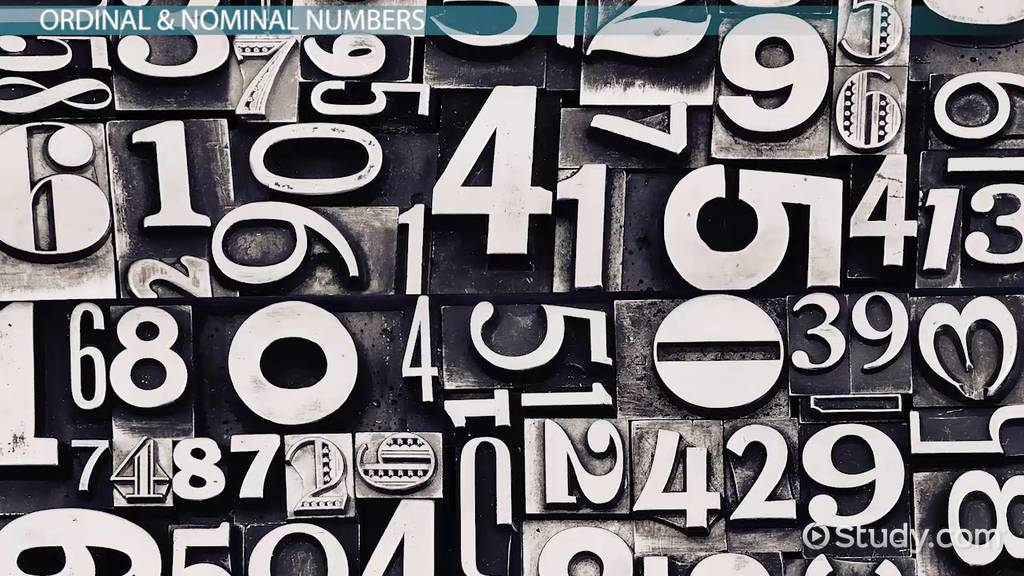 What Are Cardinal Numbers? - Definition & Examples - Video ...