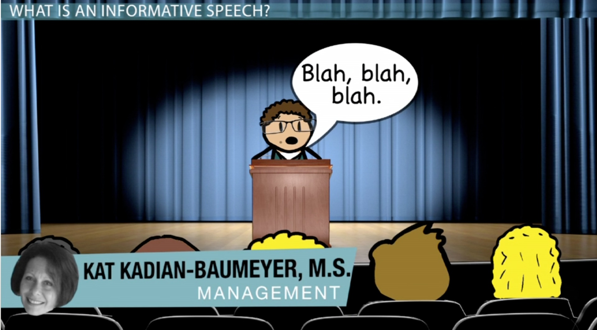 informative and persuasive speaking