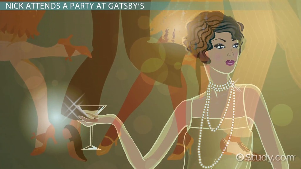 great gatsby theme essays