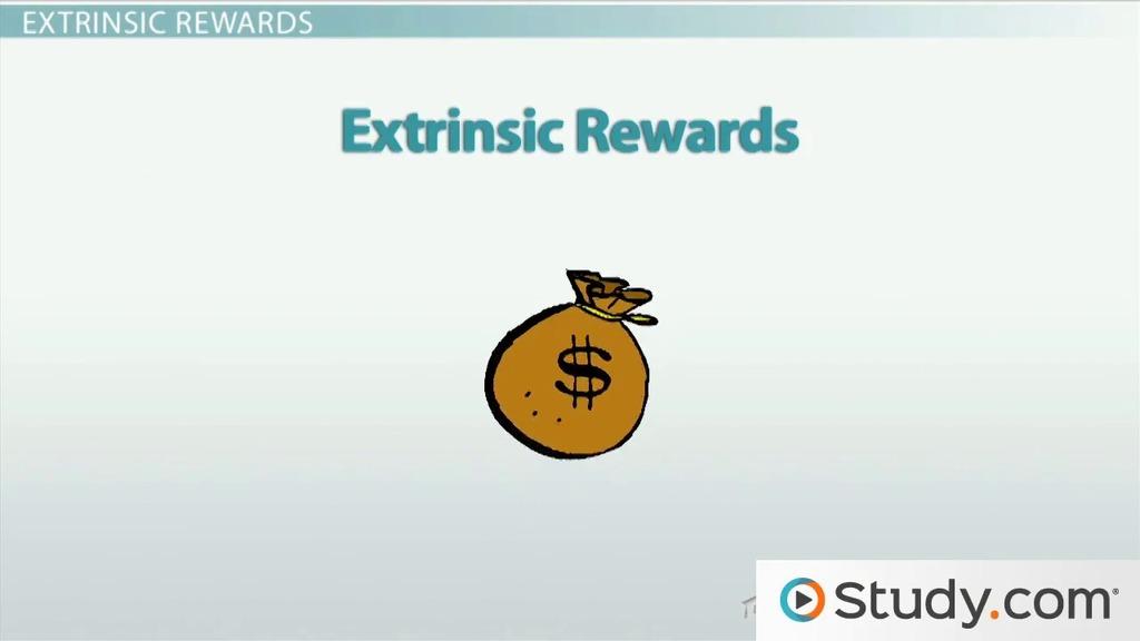 reward systems employee behavior intrinsic extrinsic rewards video lesson transcript studycom