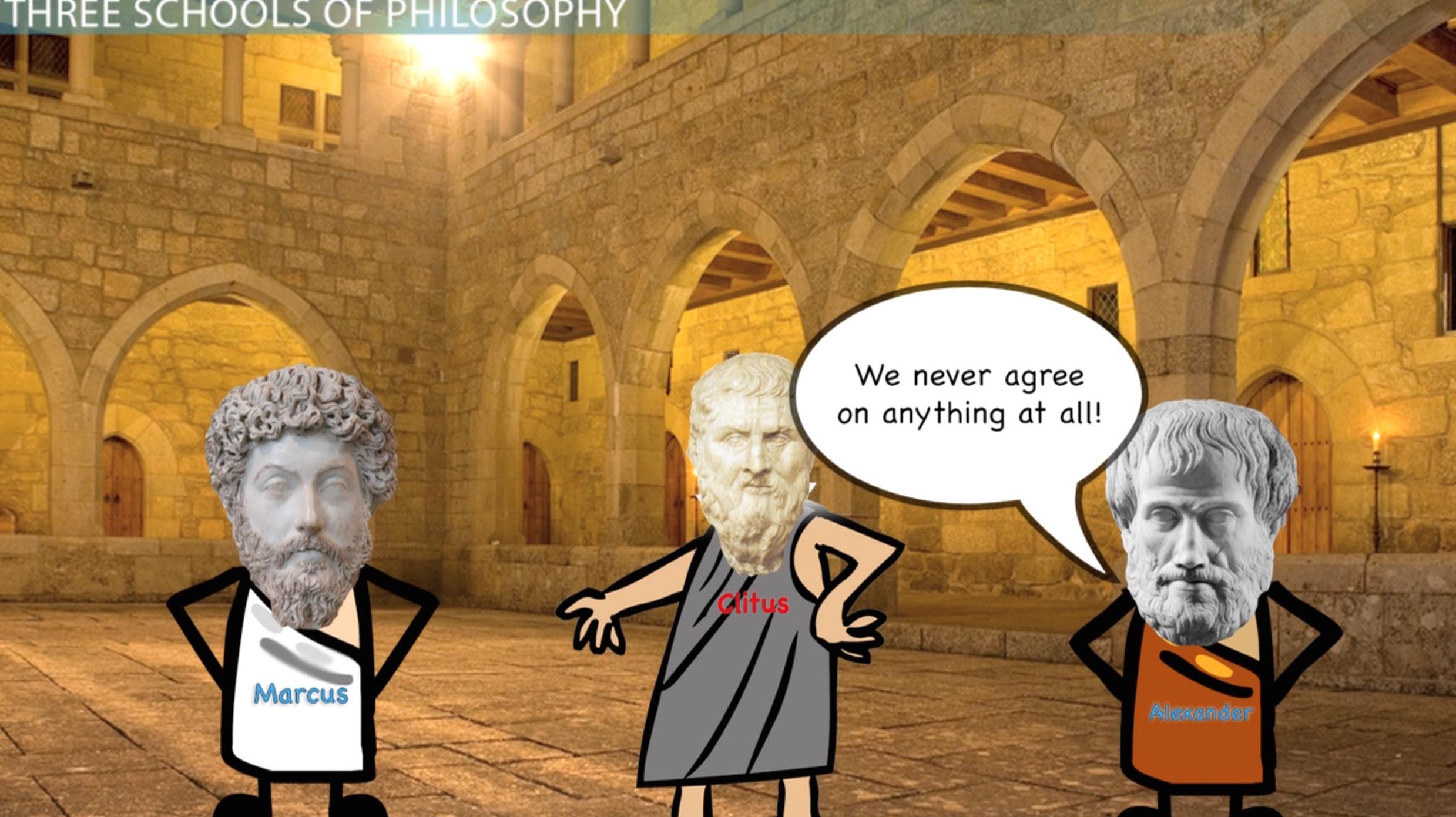 Schools Of Philosophy In Antiquity Cynics Epicureans Stoics Video Lesson Transcript Study Com
