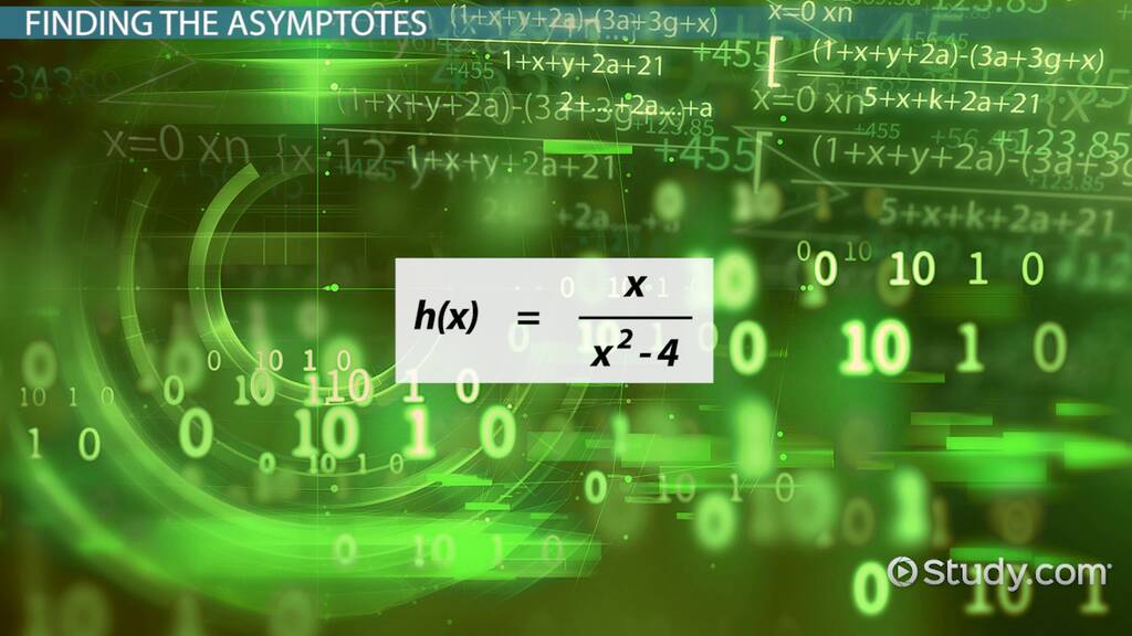 Finding Asymptotes Of Rational Polynomial Functions Video