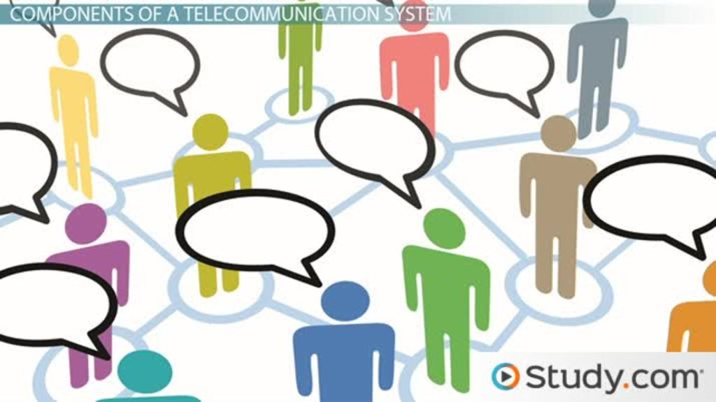 The Components of a Telecommunications System - Video