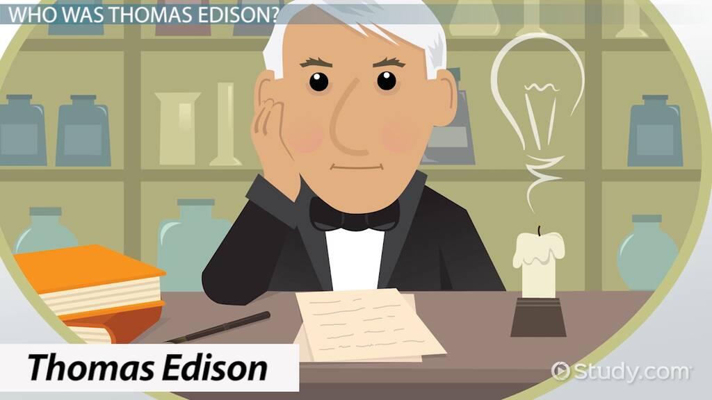 Thomas Edison Lesson for Kids: Biography & Facts - Video & Lesson Transcript | Study.com