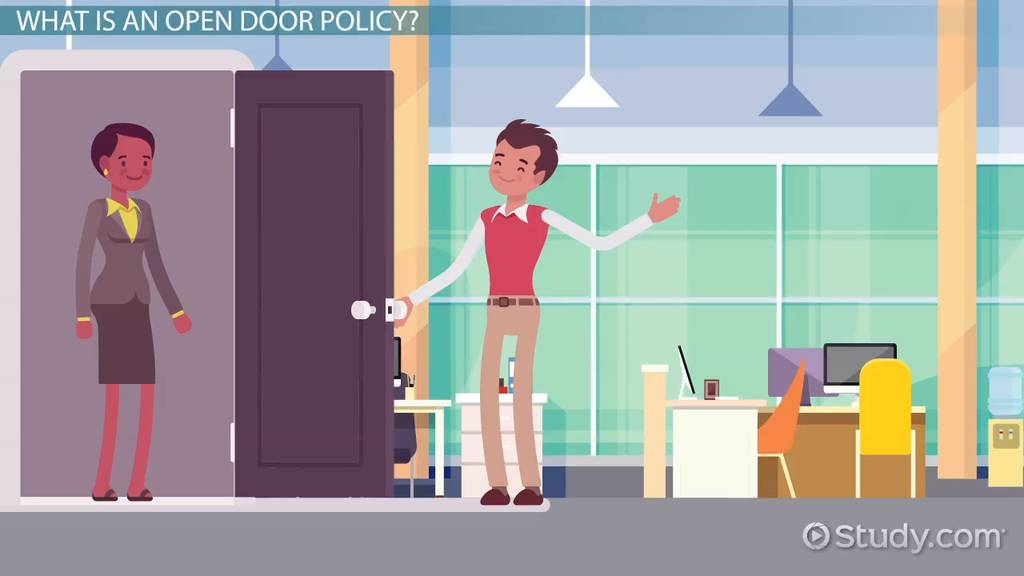 Open Door Policy: Meaning & Advantages - Video & Lesson ...