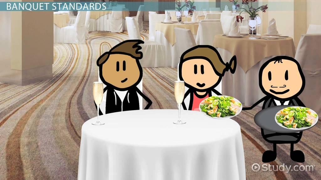 Nursing School Online >> Banquet Service: Standards, Types & Definition - Video ...