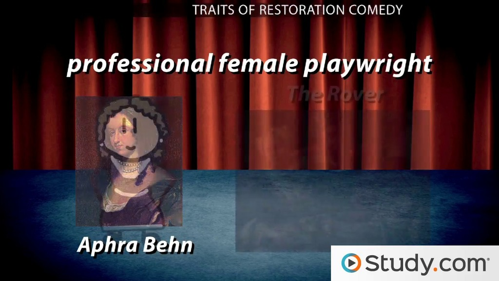 restoration theater and comedy Introduction to theatre - thea 131 dr c frederic  theatre history - restoration to present  the dominant form of drama was the comedy of manners bcharacters .
