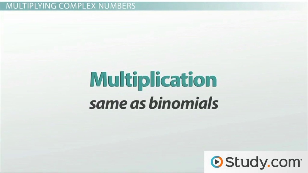 How to Add Subtract and Multiply Complex Numbers Video Lesson – Adding and Subtracting Complex Numbers Worksheet