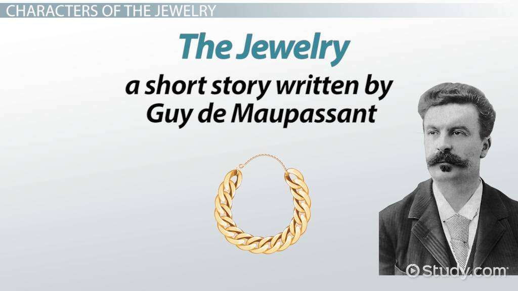 """thematic progression of the necklace by guy de maupassant Lessons we can learn from """"the necklace"""" by guy de maupassant  the  necklace is a symbol of envy and greed which are the leading themes of the story."""