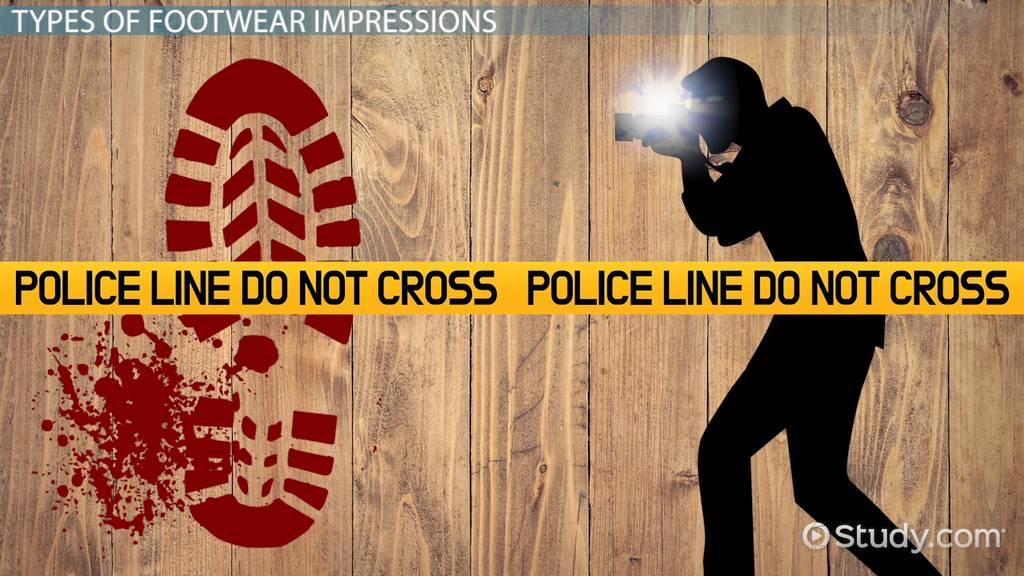 Footwear forensic examination methods purpose video lesson footwear forensic examination methods purpose video lesson transcript study fandeluxe Gallery