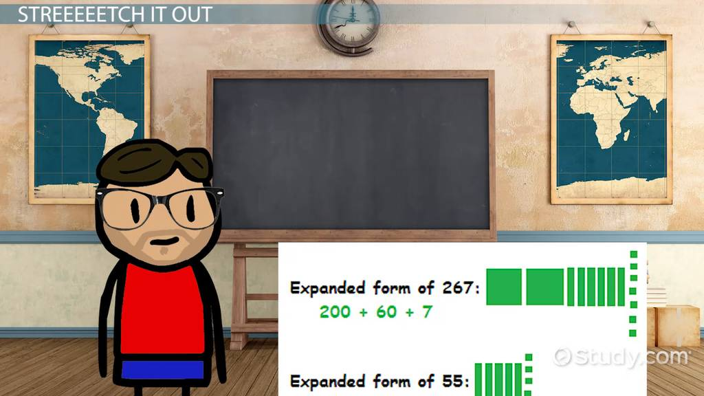 How To Multiply Using Expanded Form Video Lesson Transcript