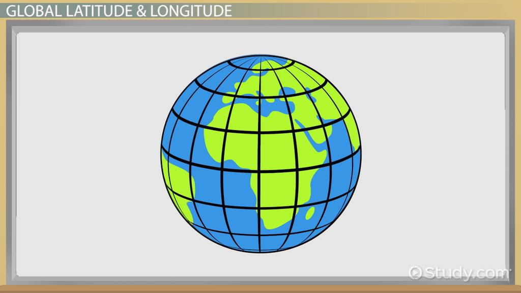 Picture of: Latitude Longitude Lesson For Kids Definition Examples Facts Video Lesson Transcript Study Com