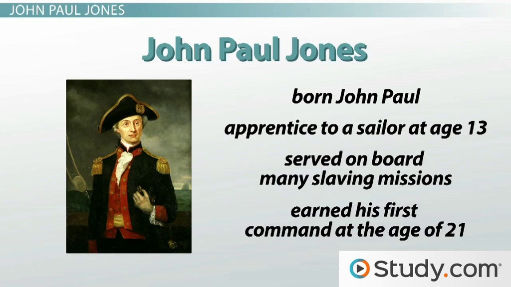 John Paul Jones And The Naval Battles Of Revolutionary War