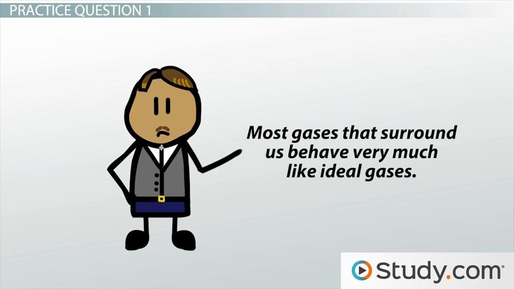 ideal gas law formula
