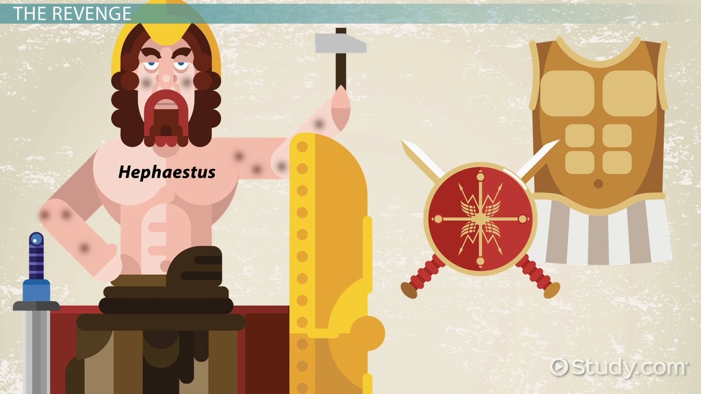 Who Is The Greek God Hephaestus Facts Symbol Video Lesson
