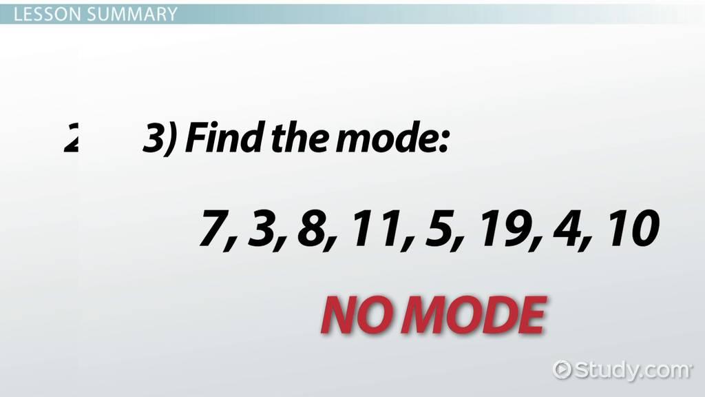 Mode definition sample problems video lesson transcript mode definition sample problems video lesson transcript study altavistaventures Images
