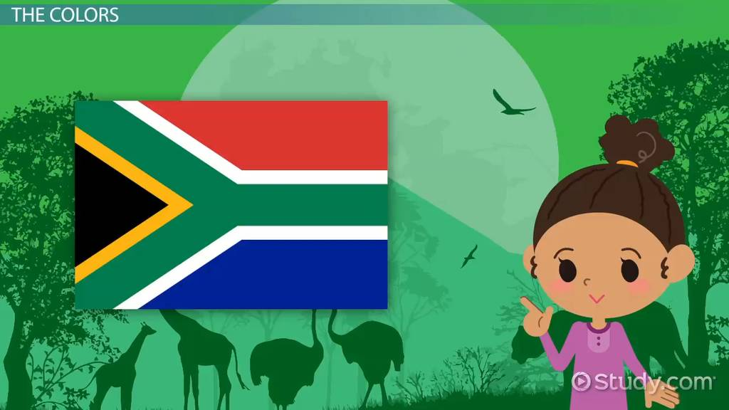 South University Online Login >> South African Flag Lesson for Kids: Colors & Meaning - Video & Lesson Transcript   Study.com