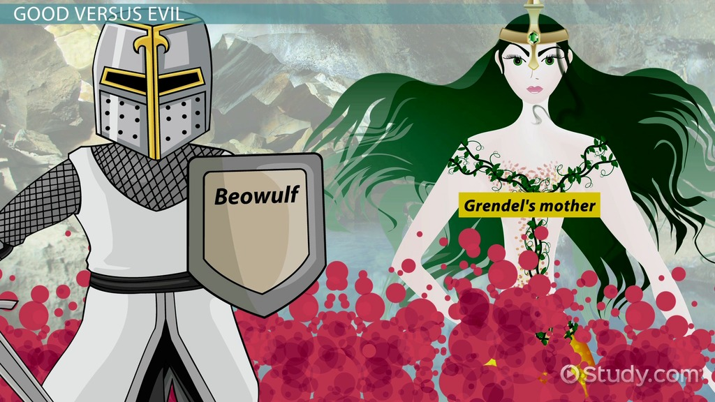 """beowulf good and evil essay In the paper """"beowulf: good versus evil, fate, and the warrior identity"""" the author examines the oldest surviving major writing in english."""