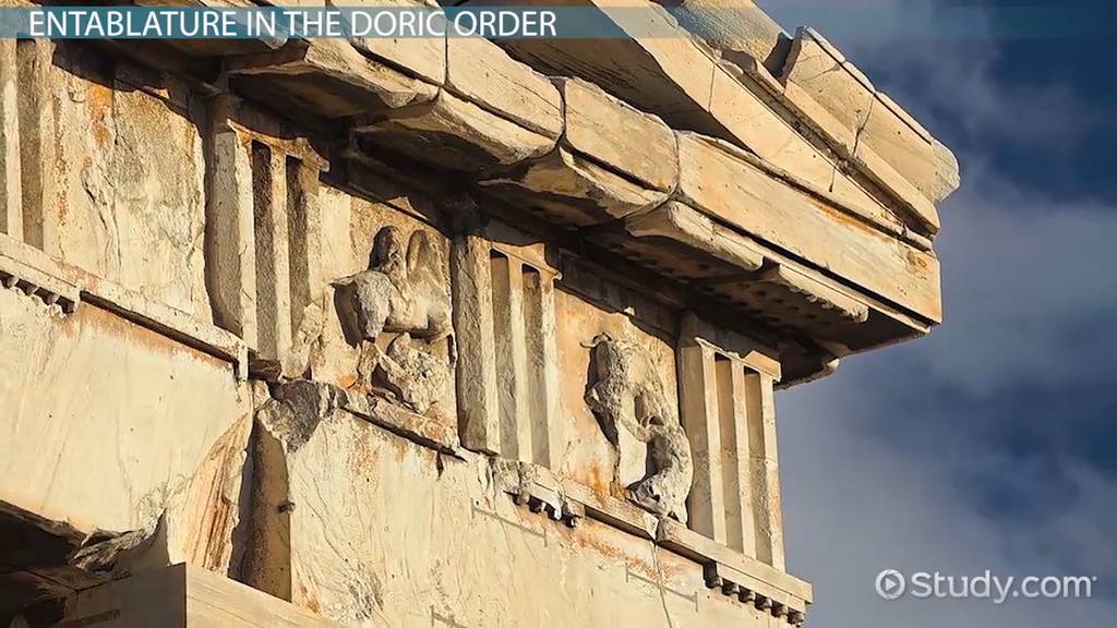 greek doric order of architecture definition example buildings