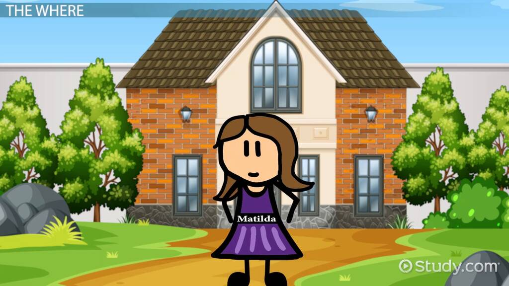 Matilda By Roald Dahl Setting Video Lesson Transcript Study Com
