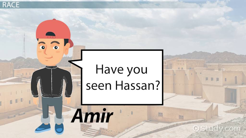 The Kite Runner Social Class Quotes Video Lesson Transcript