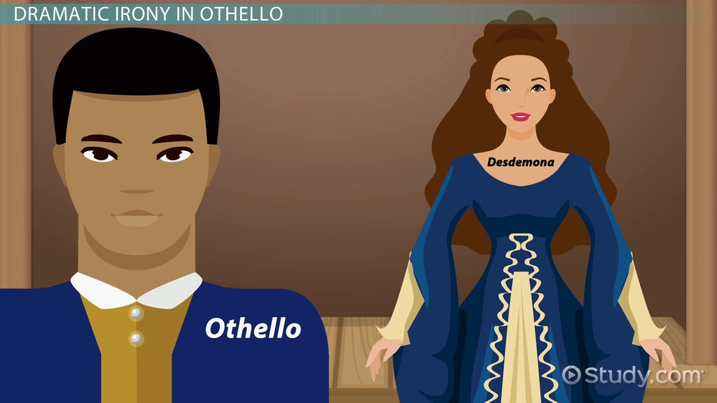 Irony in Othello: Dramatic & Verbal - Video & Lesson