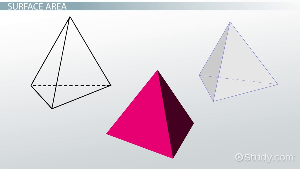 tetrahedron  definition  u0026 formula