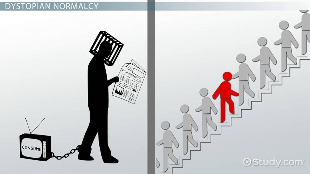 Conformity Vs Individuality In Fahrenheit 451 Video Lesson