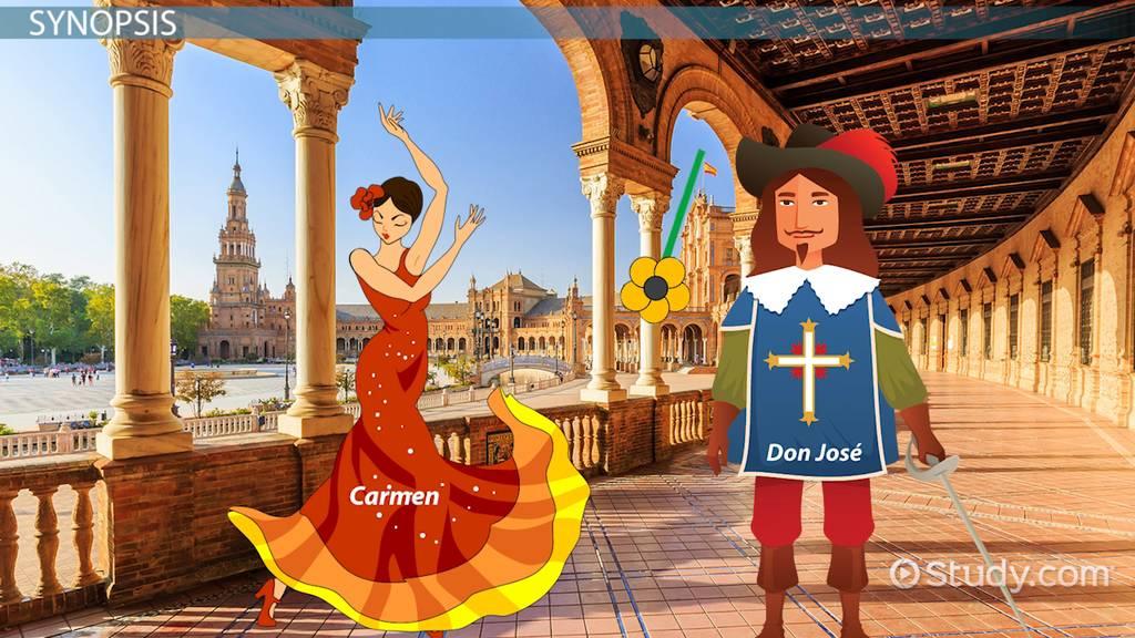 Carmen The Opera Synopsis Music Composer Music Class Video Study Com