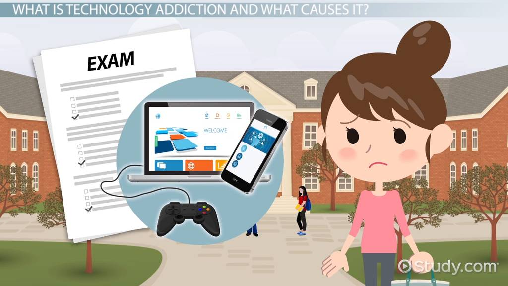 what is technology addiction  - definition  u0026 signs