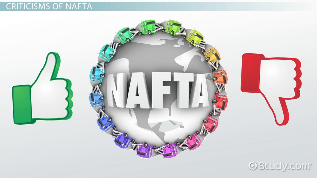 What Is Nafta Definition Effects History Video Lesson