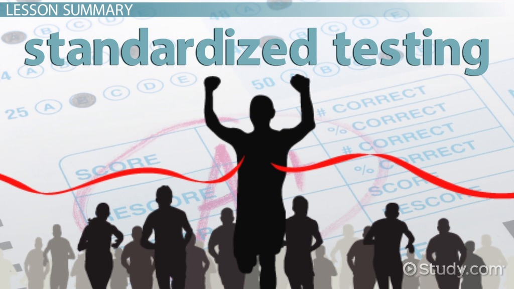 standardized testing disadvantages