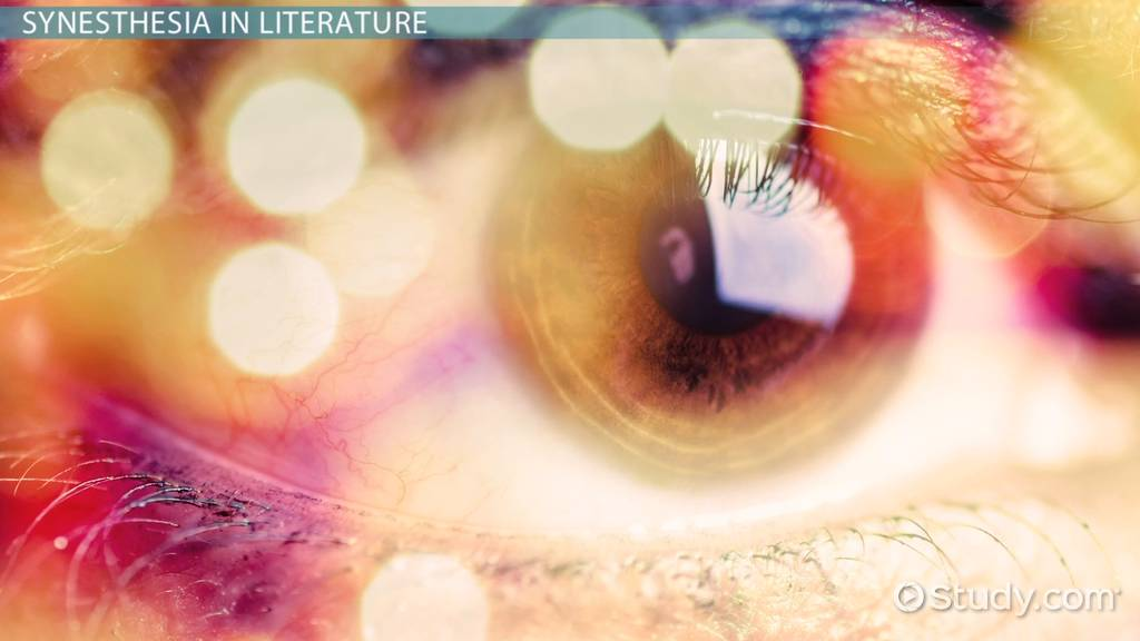 examples of synesthesia in literature
