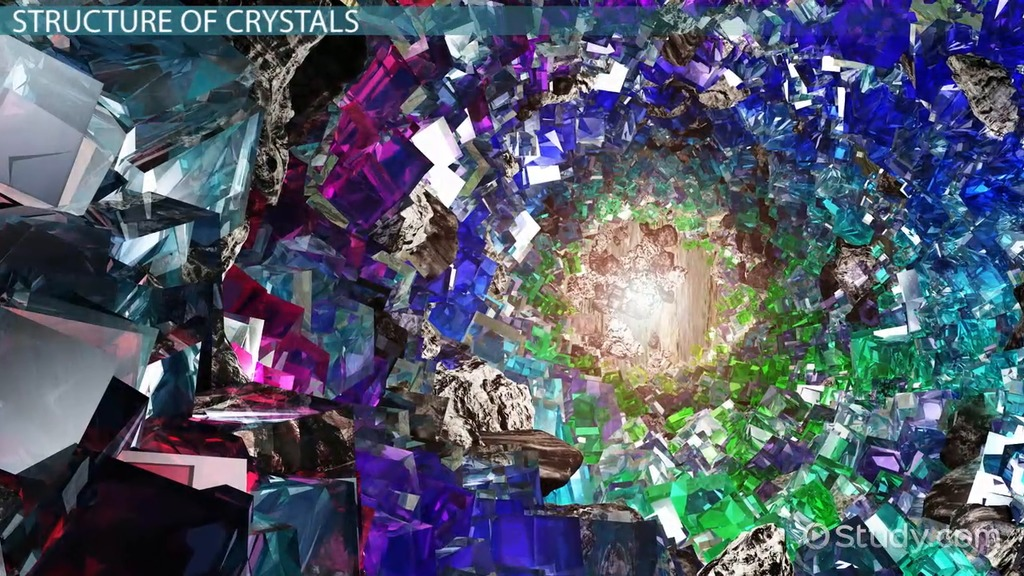Crystal Definition Types Structure Amp Properties Video