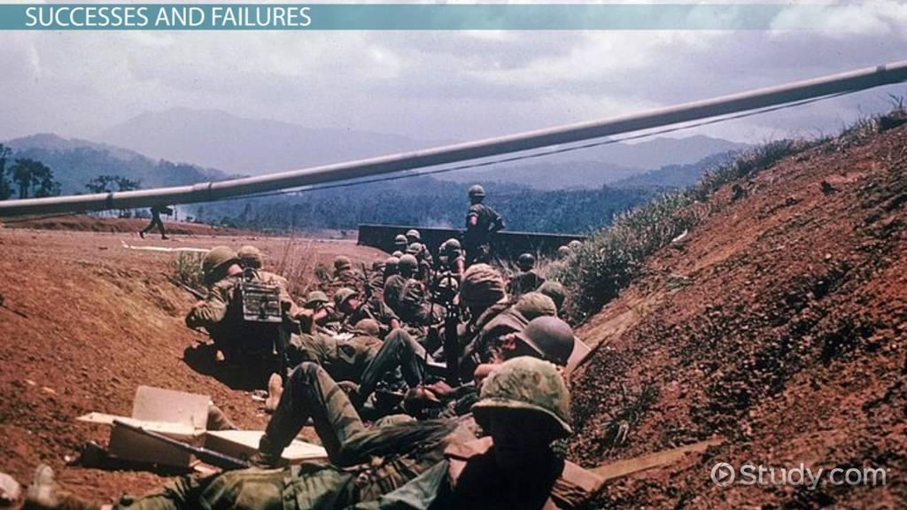 Nursing School Online >> The Vietnam Ground War: U.S. Military Strategy & Policy ...