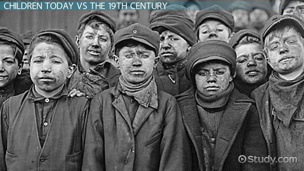 Child Labor In The 1900s Video Lesson Transcript Study Com